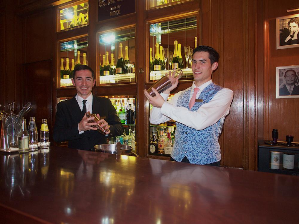 Daltini drink, Krug Bar Madrid