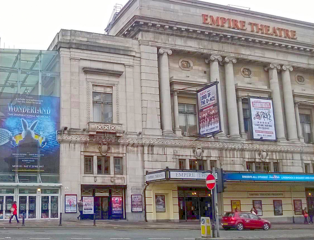 Empire Theatre Liverpool, best shows in Liverpool
