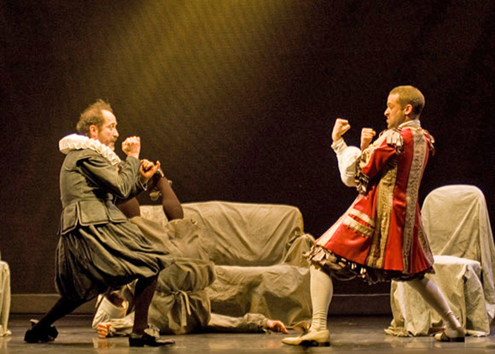 Molière's The Miser, Theatre in Paris