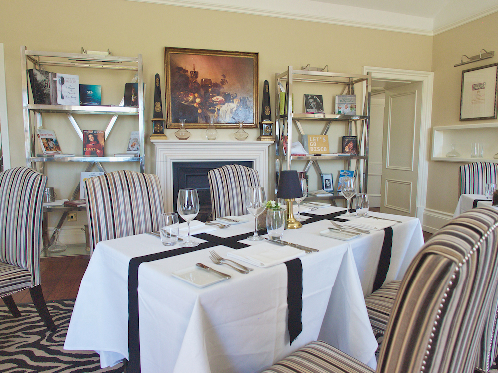 restaurant the lodge at ashford castle, best restaurants in ireland