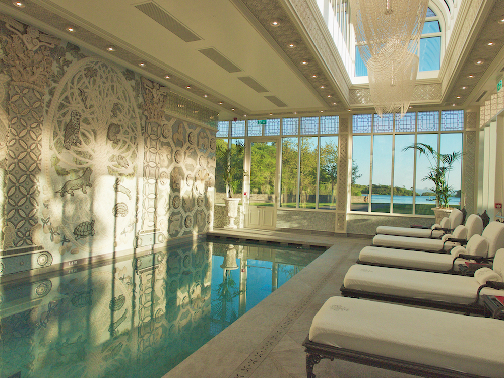 the spa at ashford castle, red carnations hotels