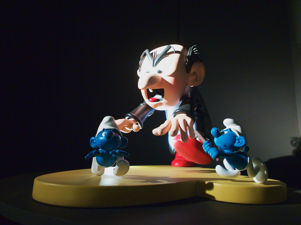 Museum of Original Figurines, smurfs,