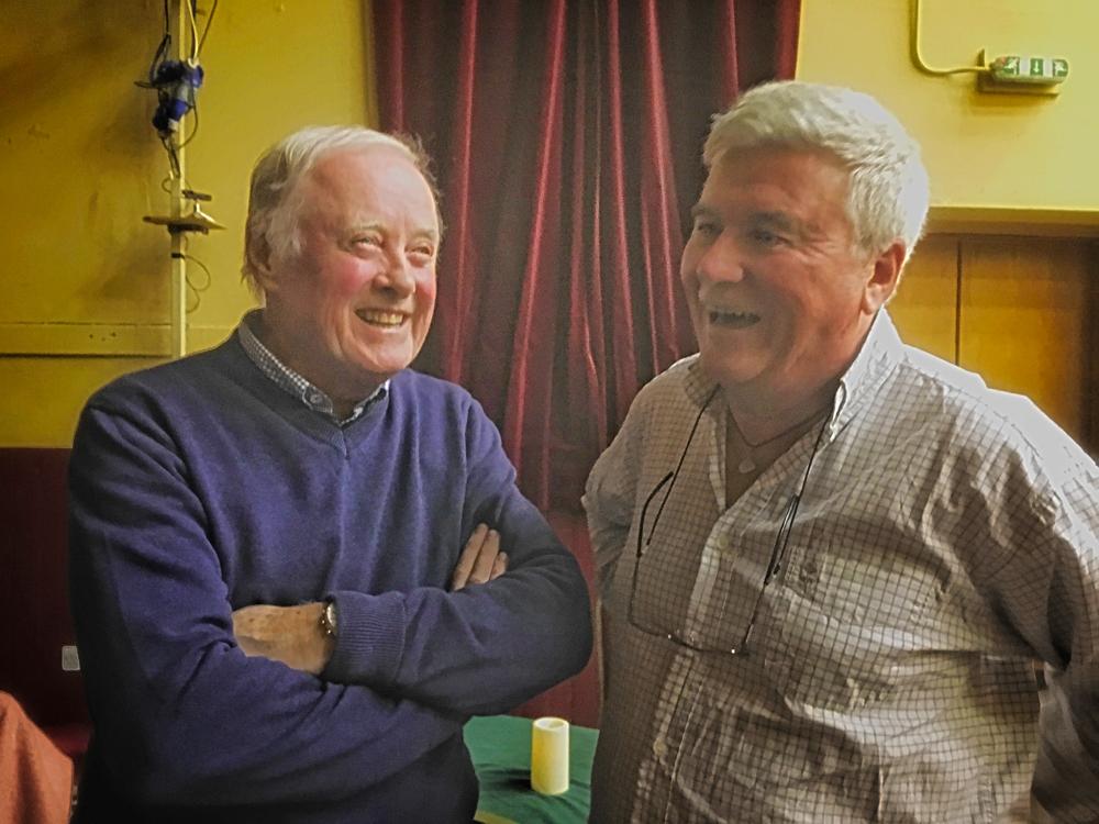 Sir Gerry Robinson, Django sur Lennon festival, Sean Hillen