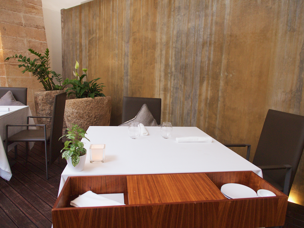 best restaurants in Palma Mallorca, marc fosh restaurant Mallorca