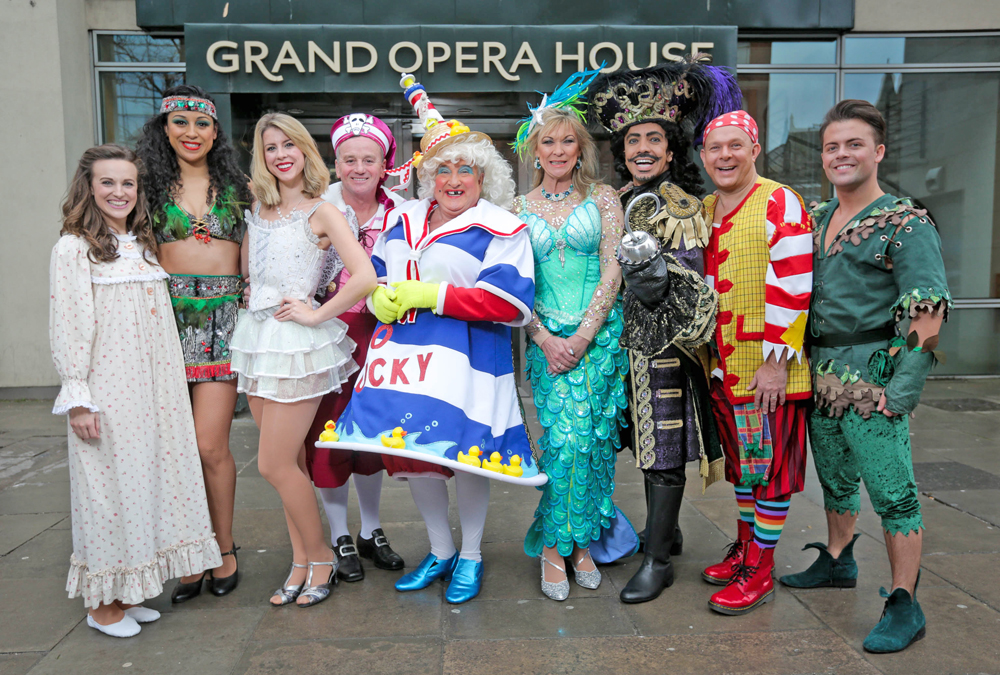 Grand Opera House Belfast, Peter Pan pantomime