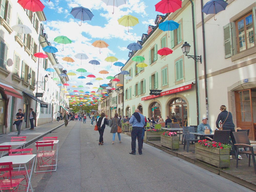 visit Carouge, Geneva's neighborhoods,