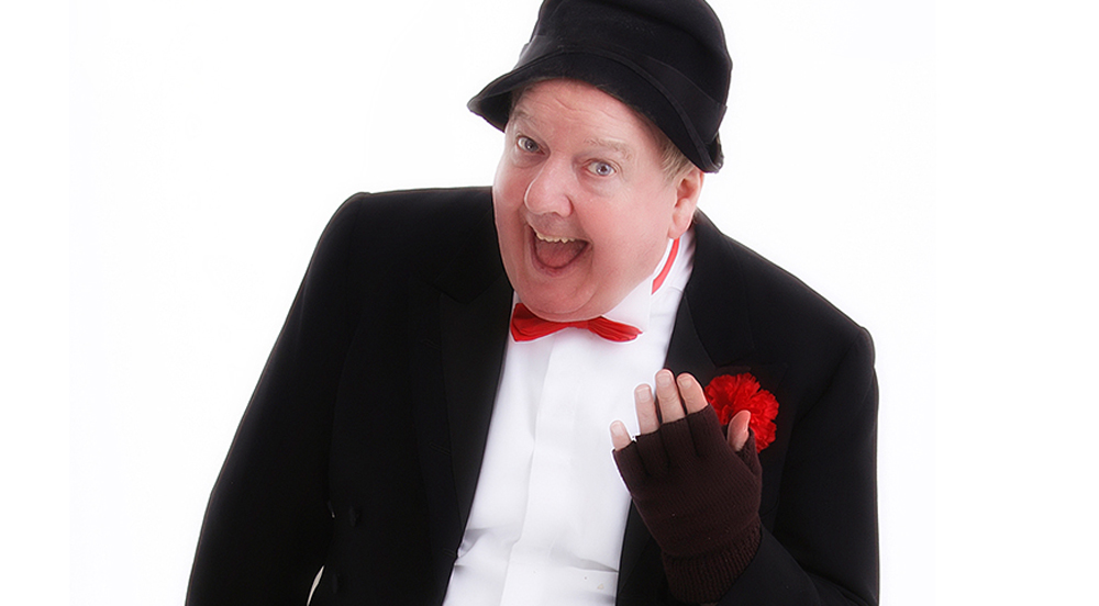 James Mulgrew known as Jimmy Cricket live at Grand Opera House Belfast