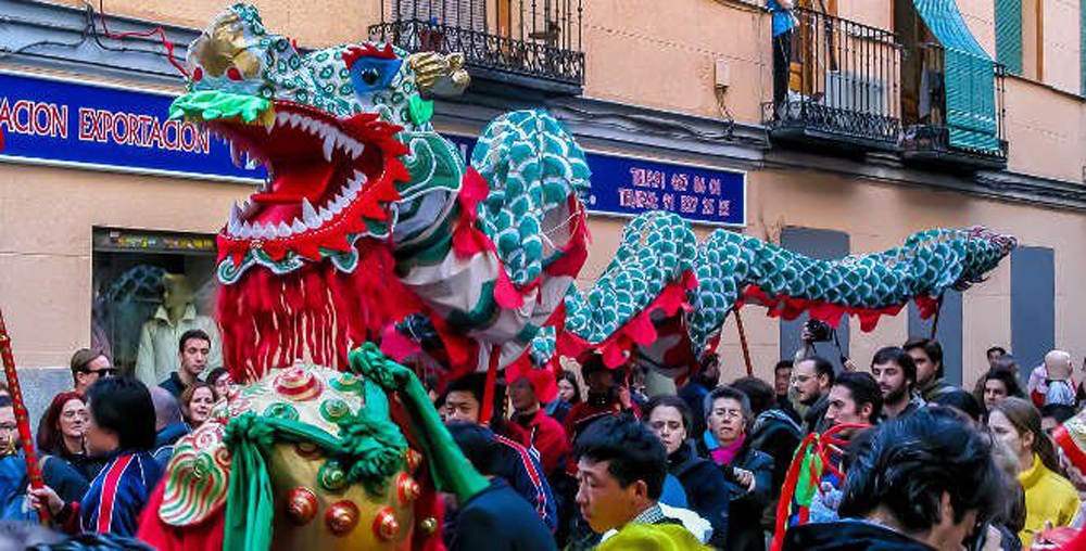 Chinese New Year Madrid, world itineraries luxury travel blog