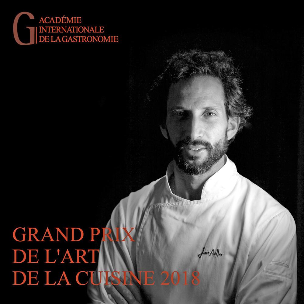 José Avillez Grand Prix de l 'Art de la Cuisine