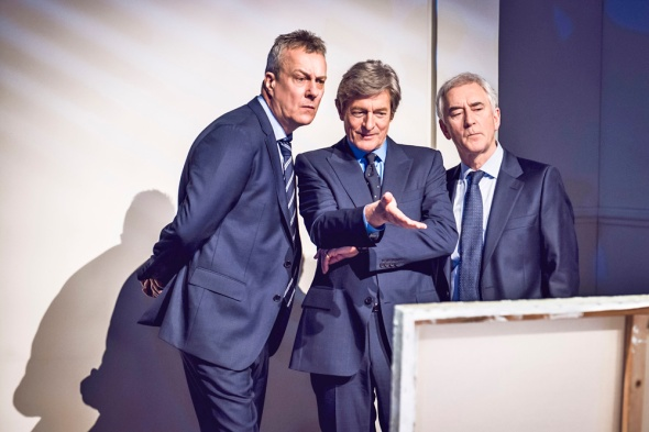 Art play, Stephen Tompkinson, Nigel Havers, Denis Lawson, photos by Matt Crockett