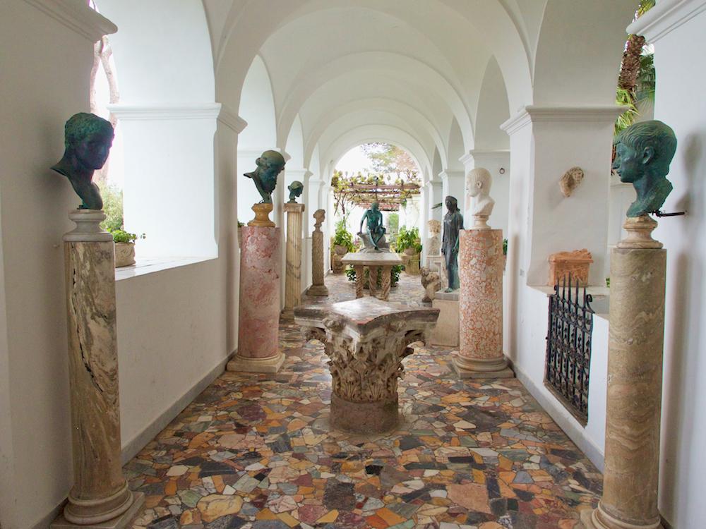 Villa San Michele, Capri museums