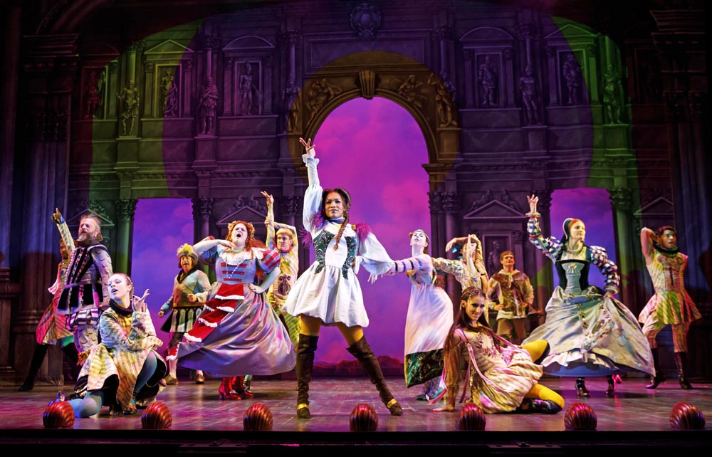 Head Over Heels musical, Curran theater San Francisco, best shows in San Francisco