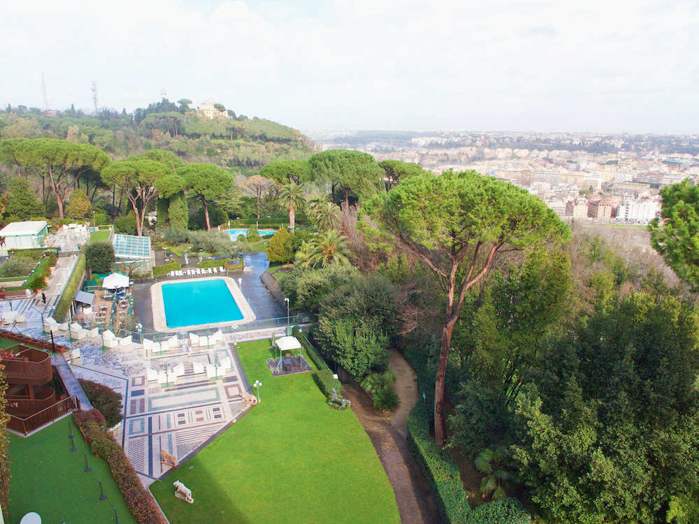 urban resort rome, waldorf astoria italy