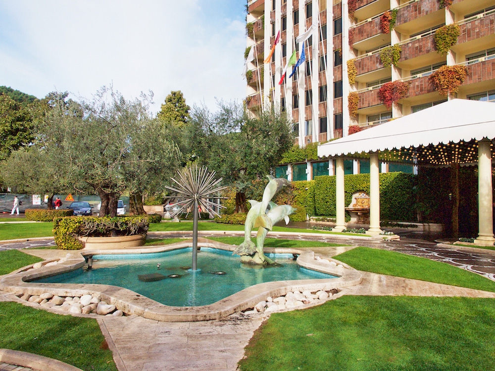 rome cavalieri, best five hotels in rome