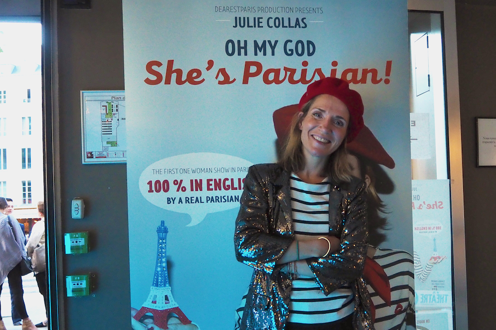 Oh my god she's a parisian, theater in paris