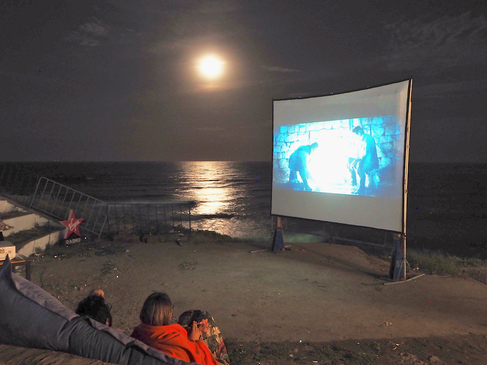 outdoor film festival, short film festival, independent film festival