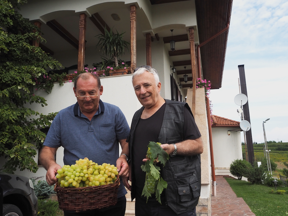 wine tasting in Romania, mugur isarescu vineyard