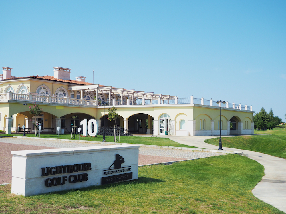 lighthouse golf club, golf in bulgaria
