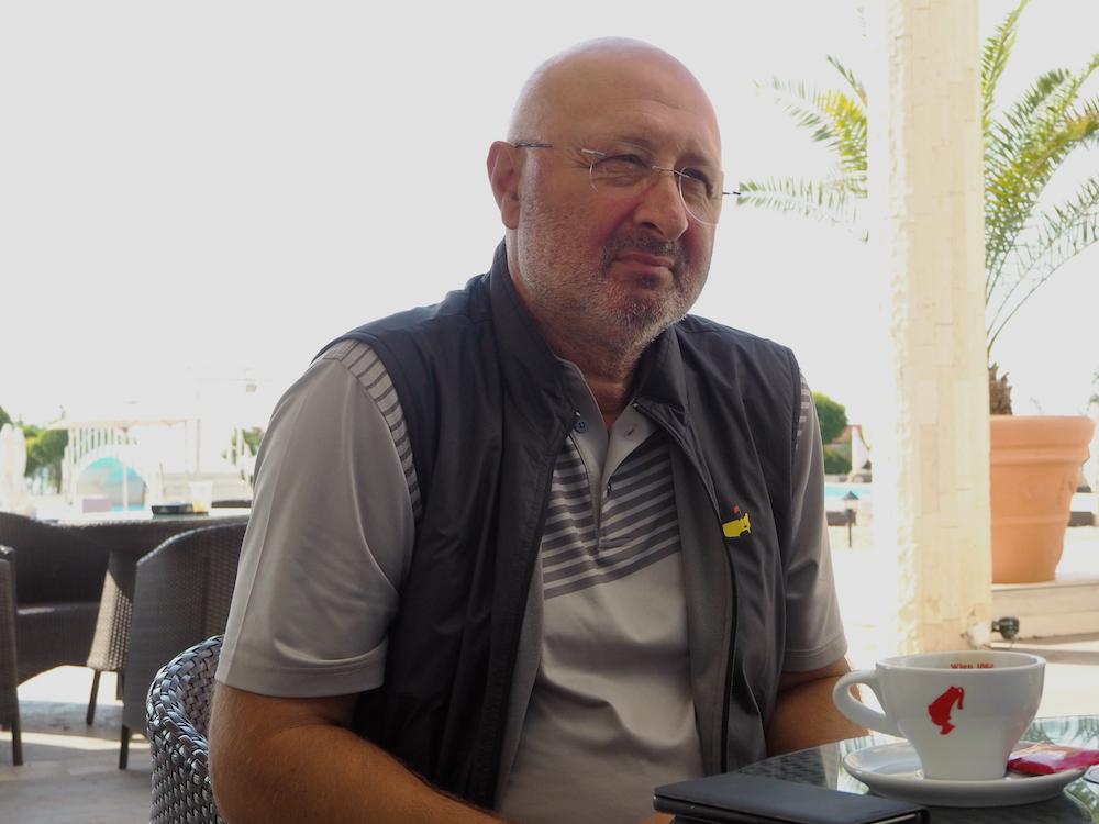George Tchouklev owner of Lighthouse golf and spa resort