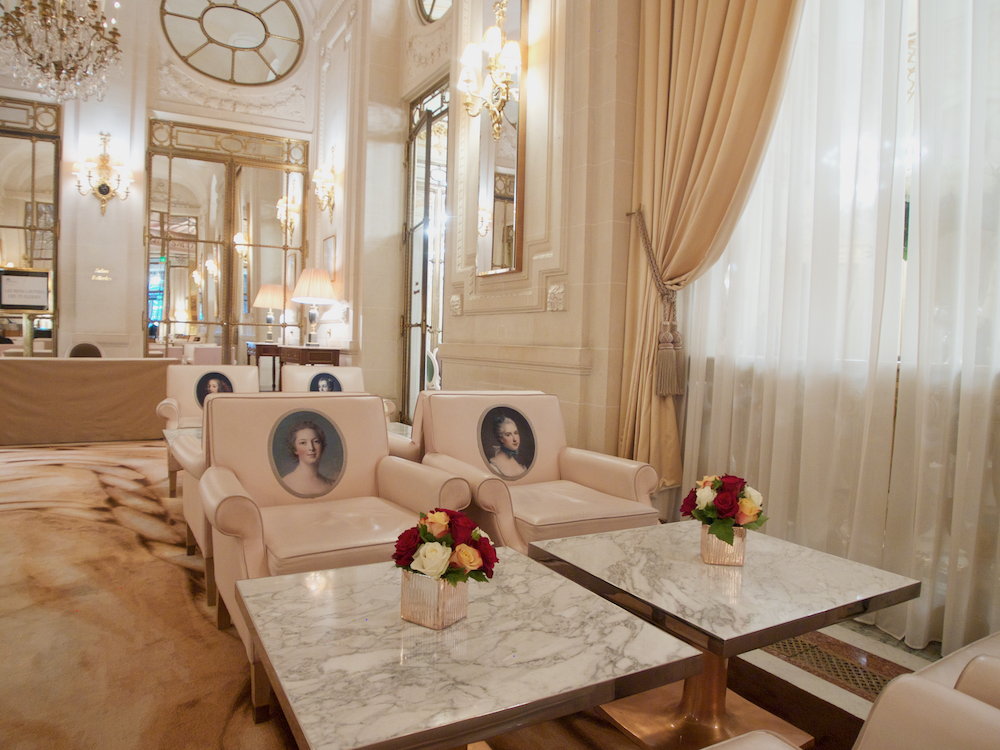 five star hotels in paris, le meurice paris