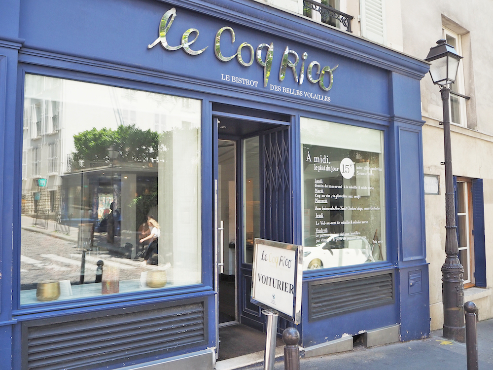 where to eat in montmartre, le coq rico paris, best french chefs