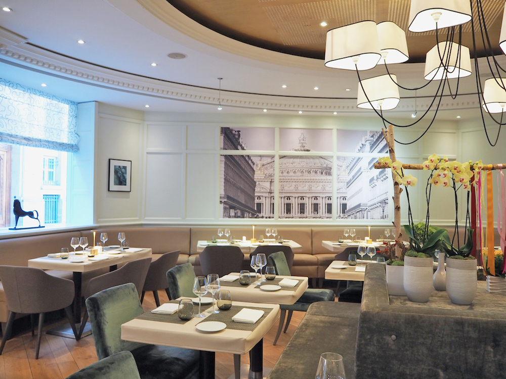 La Cuisine de l'E7 restaurant, Hotel Edouard 7 paris