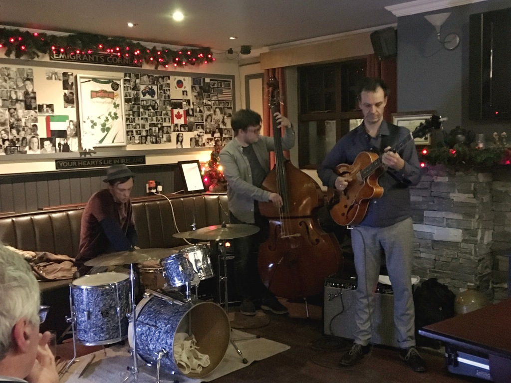 Jesse Van Ruller Trio in Donegal, Falcarragh Winter Jazz Festival