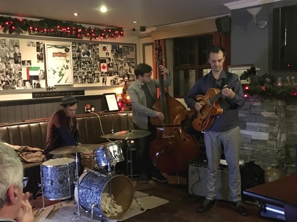 Jesse Van Ruller Trio in Donegal, Falcarragh Winter Jazz Festival