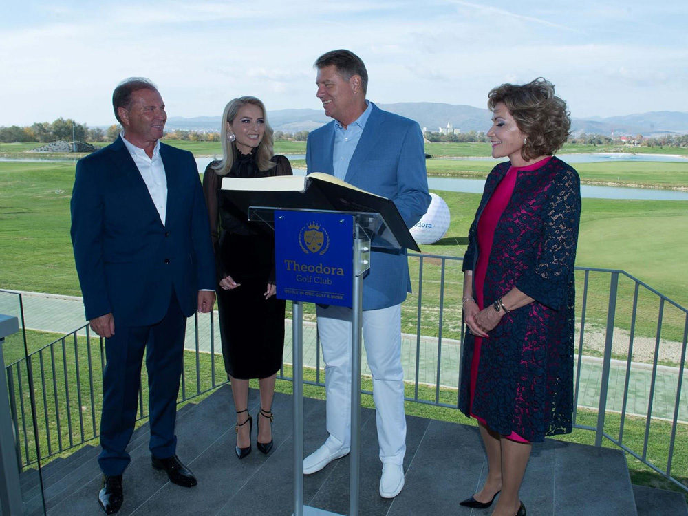 Klaus Iohannis Theodora Golf Club, golf course romania
