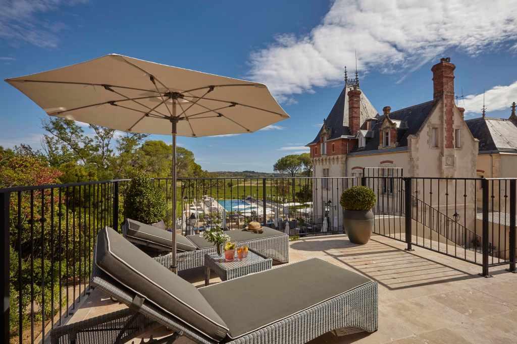 Chateau St. Pierre de Serjac spa, best spas in France, Languedoc spas, valentine's day