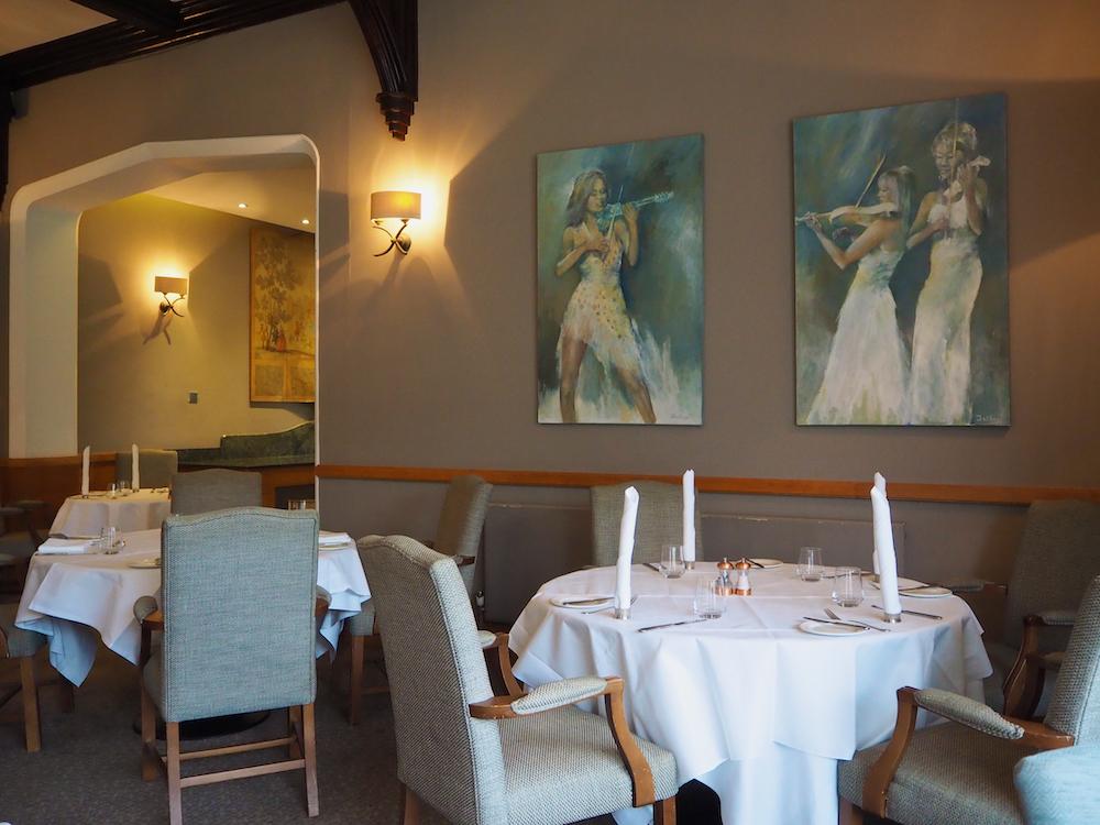 fine dining in surrey, best restaurants in england, foxhills resort
