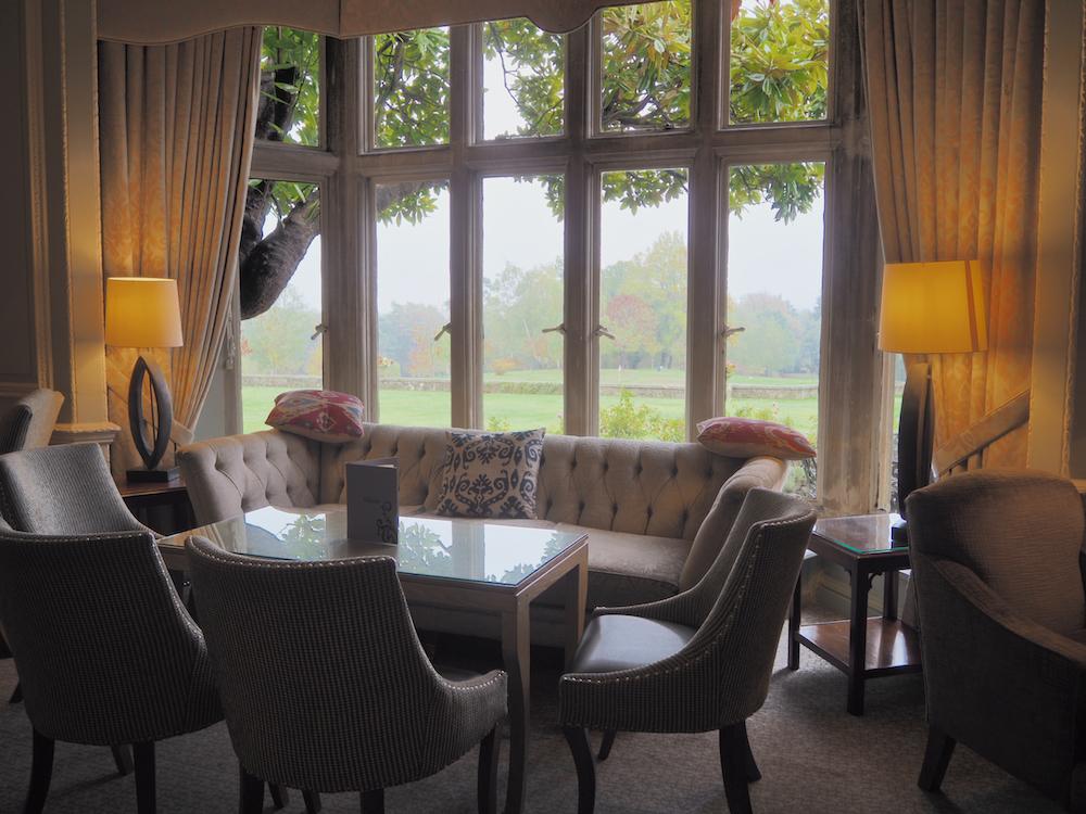 Old World English tea room, old english manors, foxhills resort