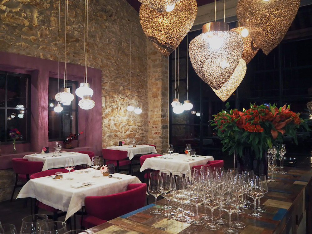 best restaurants in languedoc, la table fine dining restaurant languedoc