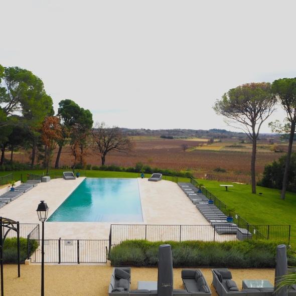 Chateau St. Pierre de Serjac, Languedoc luxury hotel