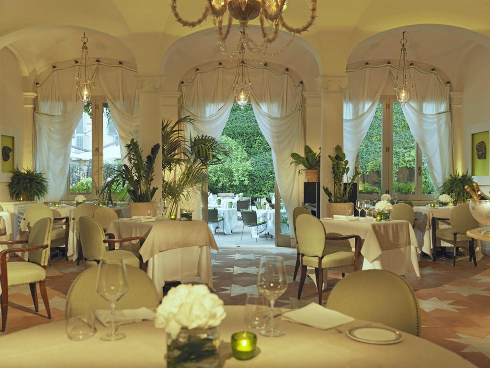 le Jardin de Russie restaurant, best restaurants in rome