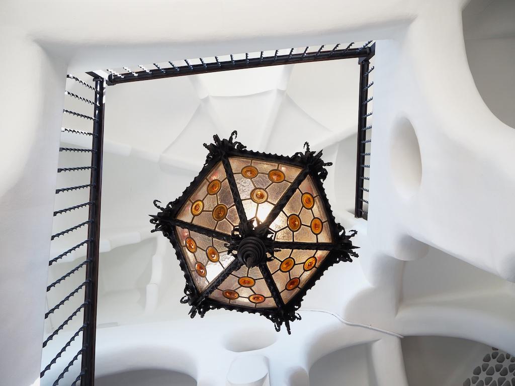 Bellesguard house, Gaudi original work, modernism architecture