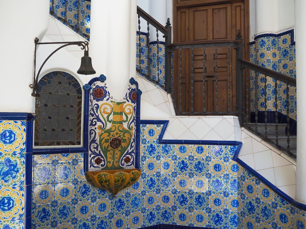 Bellesguard house, Gaudi architecture, Barcelona