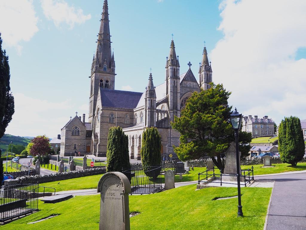 lettekenny cathedral, cathedral quarter lettekenny, Donnan Harvey donegal