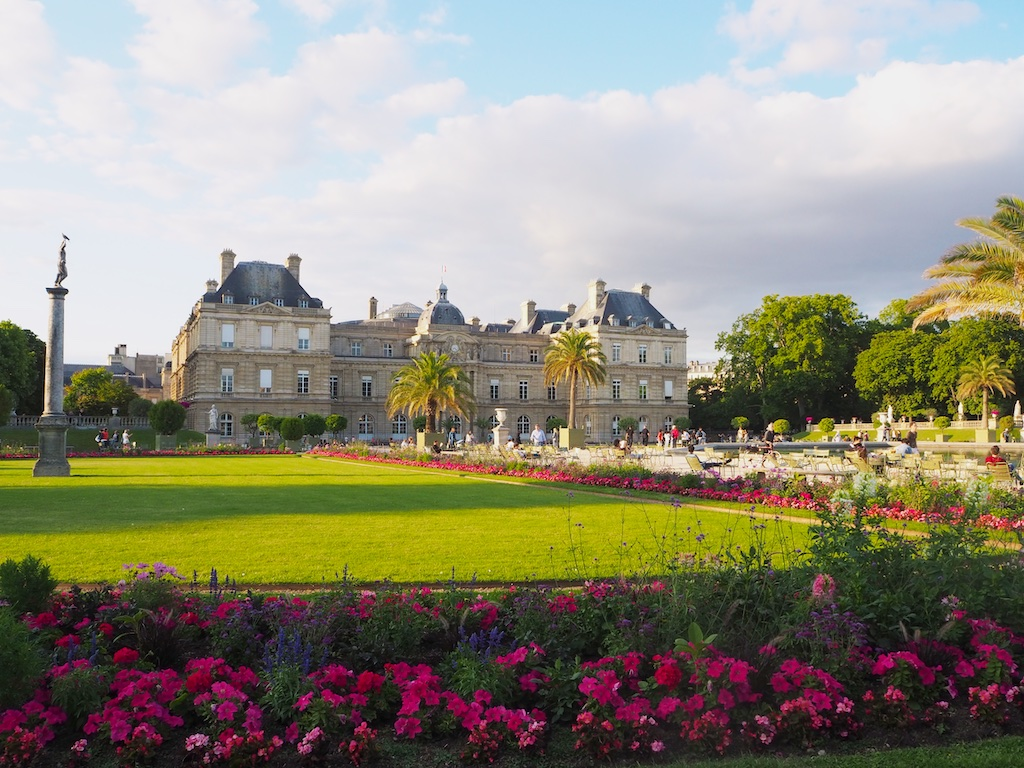 Luxembourg gardens Paris, John Baxter writer, Paris writers