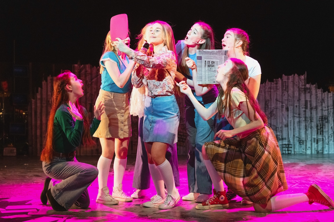 Paperboy musical, Belfast musicals, Lyric Theater Belfast