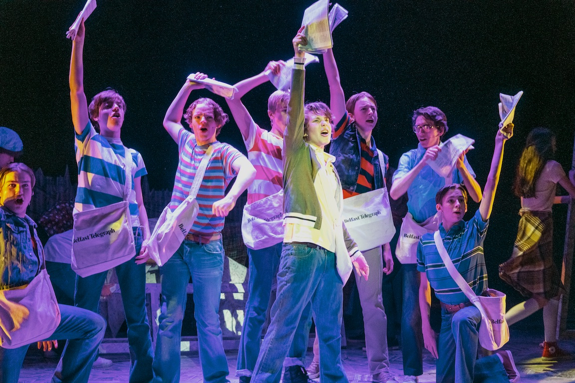 Paperboy musical, Belfast musicals, Lyric Theater Belfast