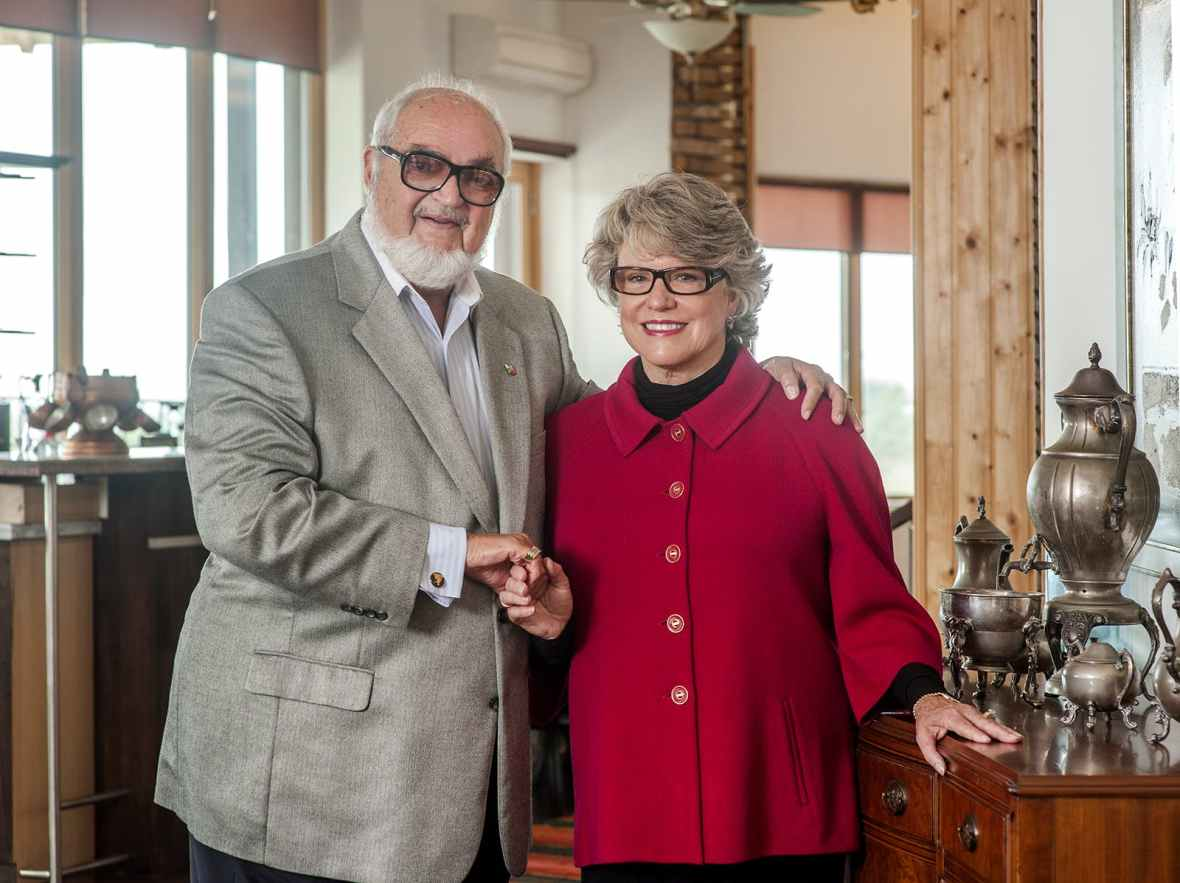 Luben and Jo Rabchev, seven generations winery