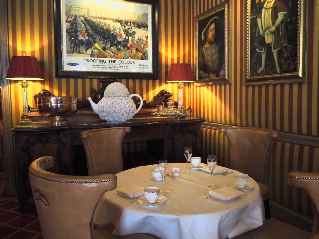 best restaurants in lodon, rubens by the palace, london