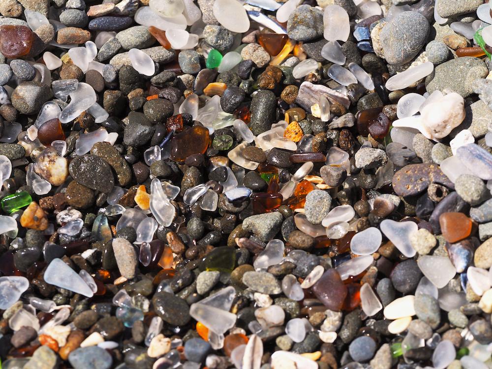 sea glass, sea glass museum california, north california