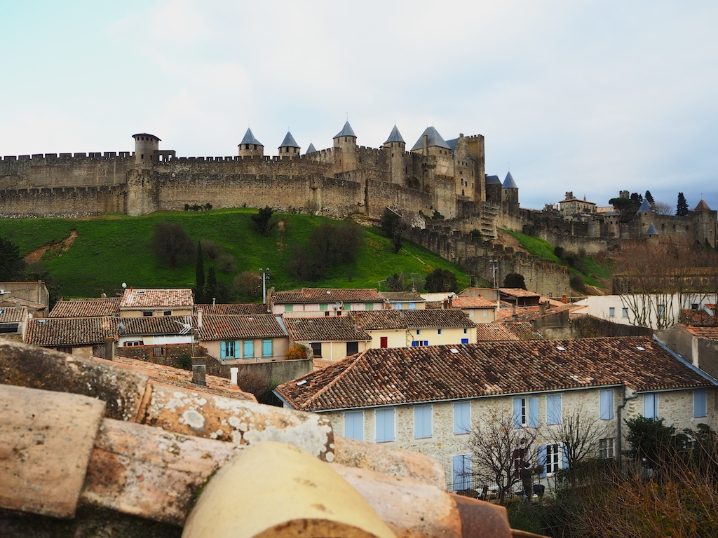 hotel overlooking carcassonne fortress, hotels in carcassonne