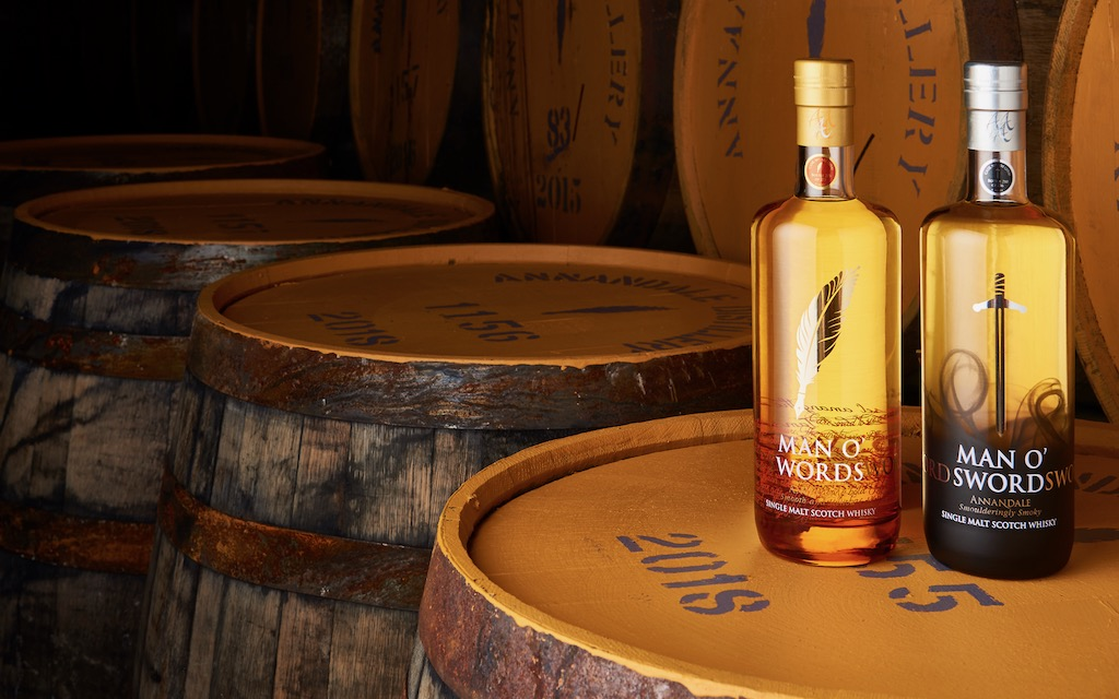 Annandale Distillery, Vintage Range whiskey, Man O'Sword whiskey, Man O'Words whiskey