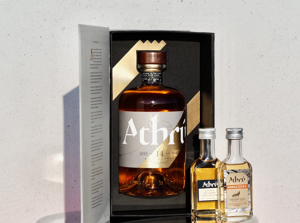 Lough Gill Distillery, Hazelwood Estate, The Creation Trilogy whiskey, Athrú Keshcorran