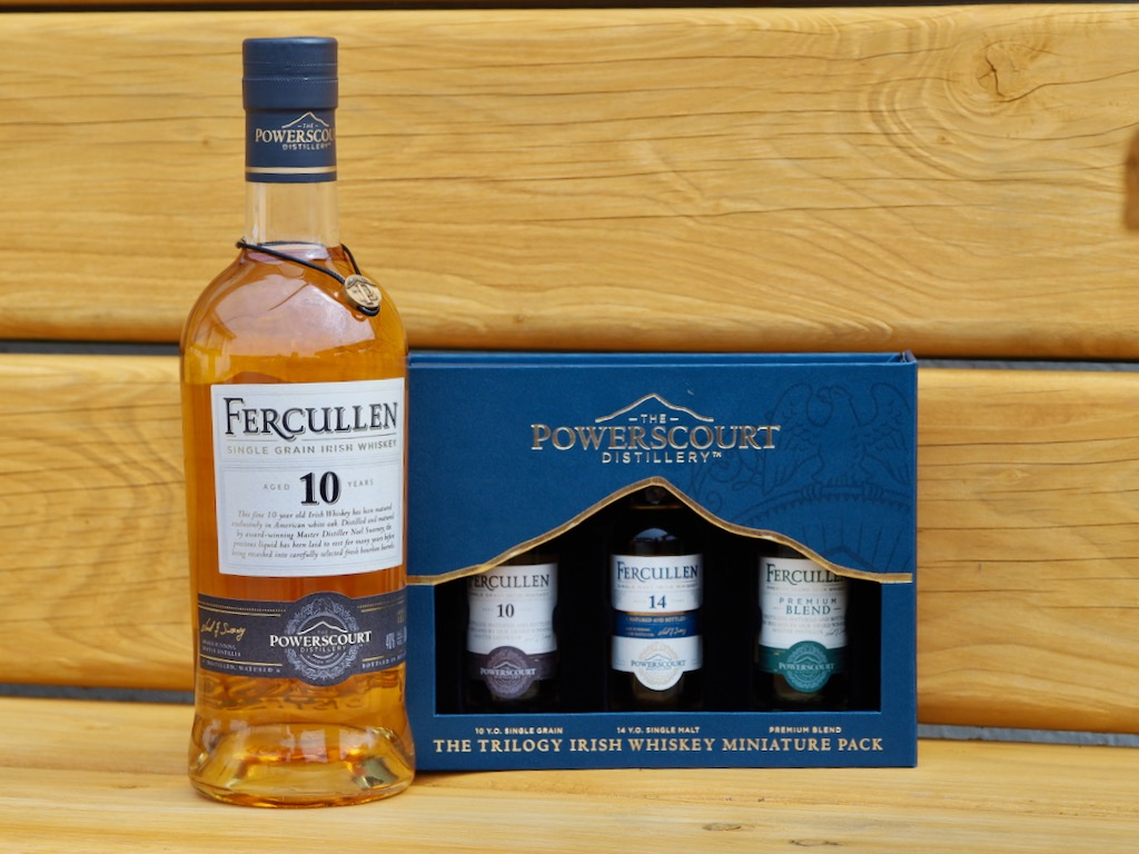 Powerscourt Distillery, Fercullen whiskey,