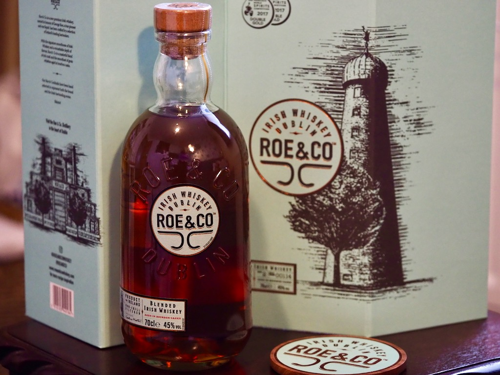 Roe & Co whiskey, guiness whiskey