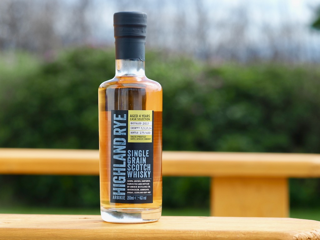 Arbikie Highland Estate , Highland Rye Single Grain Scotch Whisky